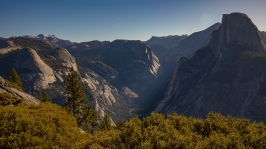 Half Dome shot from Glacier Point