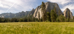 Panorama from meadow